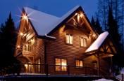 Maison hybride avec bois massif