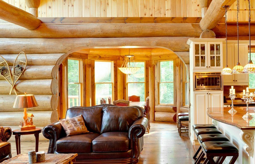 R alisations de bois rond charpenterie et autres projets for Maison bois rond