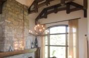 Ajout de charpenterie dans une maison conventionnel