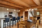 Maison de bois rond Harkins