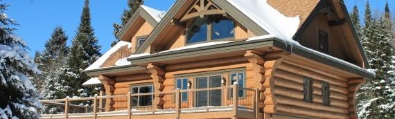 Aspect écologique des maisons en bois rond