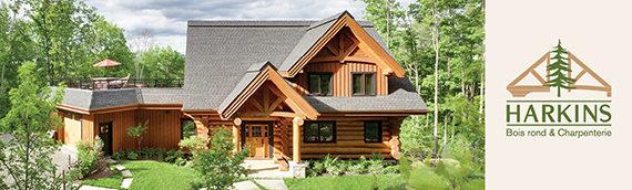5 raisons pour se construire une maison en bois rond !