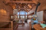Charpente maison bois massif - survol