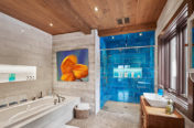 Timber Frame Home - Bathroom