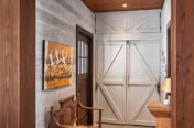 Timber Frame Home - Entrance