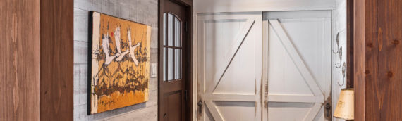 Timber Frame Home – Entrance