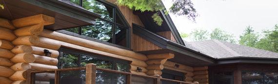 Assurer l'entretien optimal de sa maison de bois rond