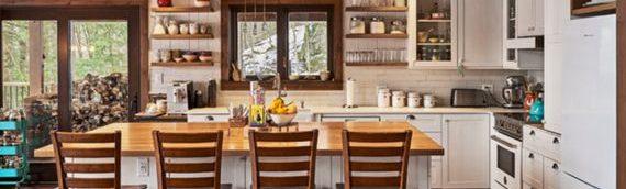 Des idées décos pour une maison de bois rond simplement wow!