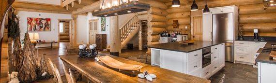 Quand maison de bois rond rime avec… environnement et santé