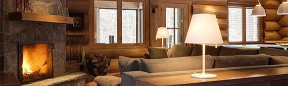 Des conseils pour rester au chaud dans sa maison de bois rond