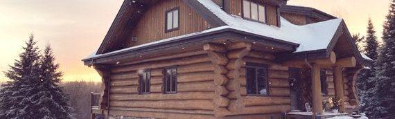 Les maisons de bois rond Harkins — 20 ans d'histoire