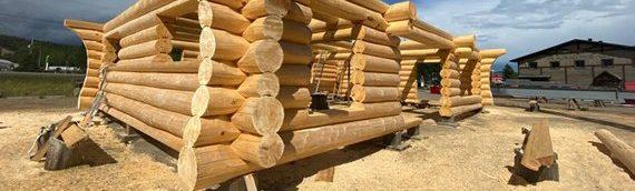 Contribuer à sauver la planète grâce à sa maison de bois rond