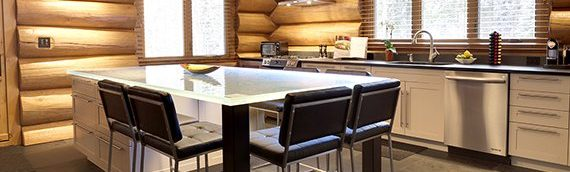 Tendances au top pour votre maison de bois rond!