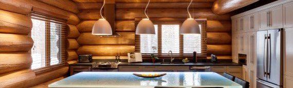 7 idées pour rehausser l'ambiance de votre maison de bois rond
